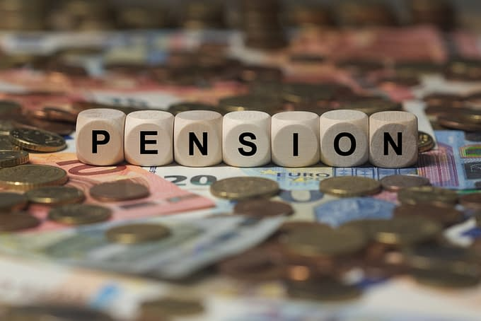 Pensions are rare these days.