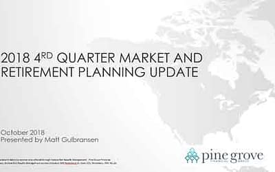 4th Quarter 2018 Market and Retirement Update