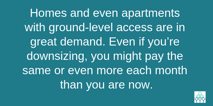 Ground-level access is in high demand.
