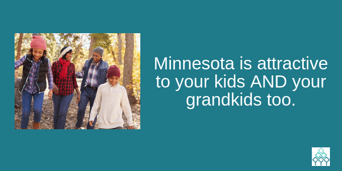 MN is attractive to all ages.